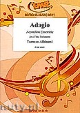 Ok�adka: Albinoni Tomaso, Adagio - Accordion Ensemble