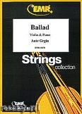 Okładka: Grgin Ante, Ballad - Violin & Piano