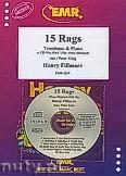 Okładka: Fillmore Henry, 15 Rags - Trombone & CD Playback