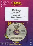 Okładka: Fillmore Henry, 15 Rags + CD - Tuba & CD Playback