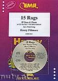 Okładka: Fillmore Henry, 15 Rags + CD - Bb Bass & CD Playback