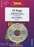 Okładka: Fillmore Henry, 15 Rags + CD - Euphonium & CD Playback