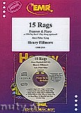 Okładka: Fillmore Henry, 15 Rags + CD - Bassoon & CD Playback