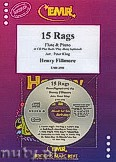 Okładka: Fillmore Henry, 15 Rags + CD - Flute & CD Playback