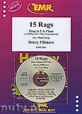 Okładka: Fillmore Henry, 15 Rags + CD - Horn & CD Playback