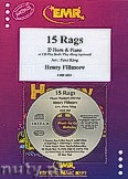 Okładka: Fillmore Henry, 15 Rags + CD - Eb Horn & CD Playback