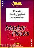 Ok�adka: Loeillet Jean-Baptiste, Sonata - Horn & Piano (Organ)