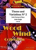 Ok�adka: Grgin Ante, Theme and Variations N� 2 - Clarinet & Piano