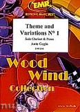 Ok�adka: Grgin Ante, Theme and Variations N� 1 - Clarinet & Piano