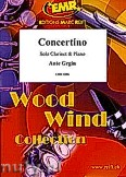 Ok�adka: Grgin Ante, Concertino - Clarinet & Piano