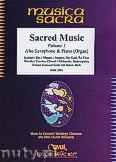 Ok�adka: R�ni, Sacred Music Volume 1 (5) - Alto Saxophone & Piano (Organ)