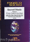Ok�adka: R�ni, Sacred Music for Cornet Eb or Trumpet and Piano (Organ), Vol. 1