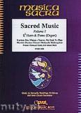 Okładka: Różni, Sacred Music Volume 1 (5) - Eb Horn & Piano (Organ)