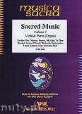 Okładka: Różni, Sacred Music for Viola and Piano (Organ), Vol. 1