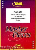 Ok�adka: Loeillet Jean-Baptiste, Sonata - Eb Horn & Piano (Organ)