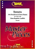 Ok�adka: Loeillet Jean-Baptiste, Sonata - Alto Saxophone & Piano (Organ)