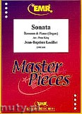 Okładka: Loeillet Jean-Baptiste, Sonata - Bassoon & Piano (Organ)