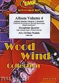 Okładka: Naulais Jérôme, Album Volume 4 (5) - 4 Saxophones (SATB)