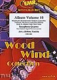 Ok�adka: Naulais J�r�me, Album Volume 10 (5) - 4 Saxophones (SATB)