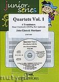 Okładka: Mortimer John Glenesk, Quartets Vol. 1 + CD - 4 Trombones & CD Playback