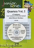 Okładka: Mortimer John Glenesk, Quartets Vol. 2 + CD - 4 Trombones & CD Playback