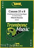 Okładka: Massaino Tiburtio, Cazon 33 a 8 - 8 Trombones