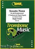 Ok�adka: Marini Biagio, Sonata Nona - 2 Trombones & Piano (Organ)