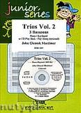 Okładka: Mortimer John Glenesk, Trios Vol. 2 + CD - 3 Bassoons & CD Playback