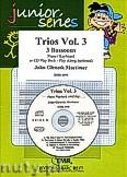 Okładka: Mortimer John Glenesk, Trios Vol. 3 + CD - 3 Bassoons & CD Playback