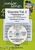 Okładka: Mortimer John Glenesk, Quartets Vol. 2 + CD - 4 Euphoniums & CD Playback
