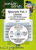 Okładka: Mortimer John Glenesk, Quartets Vol. 1 - 4 Bassoons