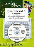 Okładka: Mortimer John Glenesk, Quartets Vol. 3 - 4 Bassoons