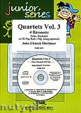 Ok�adka: Mortimer John Glenesk, Quartets Vol. 3 - 4 Bassoons