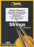 Okładka: Naulais Jérôme, Album Volume 3 (5) - String Quartet (2 Violin, Viola, Violoncello)