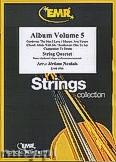Okładka: Naulais Jérôme, Album Volume 5 (5) - String Quartet (2 Violin, Viola, Violoncello)