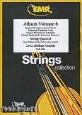 Okładka: Naulais Jérôme, Album Volume 6 (5) - String Quartet (2 Violin, Viola, Violoncello)