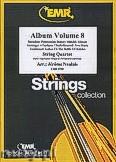Okładka: Naulais Jérôme, Album Volume 8 (5) - String Quartet (2 Violin, Viola, Violoncello)