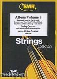 Okładka: Naulais Jérôme, Album Volume 9 (5) - String Quartet (2 Violin, Viola, Violoncello)