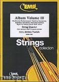 Okładka: Naulais Jérôme, Album Volume 10 (5) - String Quartet (2 Violin, Viola, Violoncello)