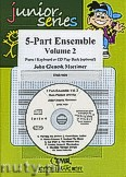 Okładka: Mortimer John Glenesk, 5-Part Ensemble Vol. 2 - 5-Part Ensemble