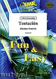 Ok�adka: Naulais J�r�me, Tentaci�n - 2 Trumpets, 2 Trombones & Solo Voice