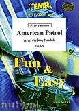 Ok�adka: Naulais J�r�me, American Patrol - 2 Trumpets, 2 Trombones & Solo Voice