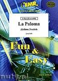 Ok�adka: Naulais J�r�me, La Paloma - 2 Trumpets, 2 Trombones & Solo Voice