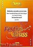 Ok�adka: Bernardi Stefano, Sinfonia seconda concertata for Brass Ensemble and Piano (Organ)