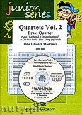 Okładka: Mortimer John Glenesk, Brass Quartet Vol. 2