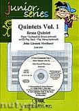 Okładka: Mortimer John Glenesk, Brass Quintet Vol. 1