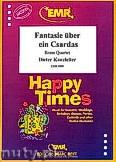 Okładka: Kanzleiter Dieter, Fantasie über ein Csardas - 2 Cornets, 2 Euphoniums