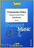 Ok�adka: Baratto Paolo, Promenaden-Polka - Cornet & Piano