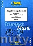 Okładka: Richards Scott, Royal Trumpet Music - 3 Trumpets