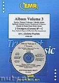 Ok�adka: Naulais J�r�me, Album Volume 3 + CD (5) - 2 Cornets & CD Playback